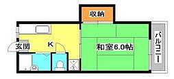 ソレーヌK[2階]の間取り