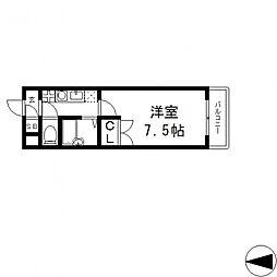 パレイースト小阪[703号室号室]の間取り