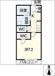 メゾンドクレーヴ[2階]の間取り