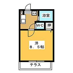 フェアリーランド B棟[1階]の間取り