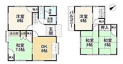 近鉄京都線 平城駅 バス7分 平城中山下車 徒歩5分