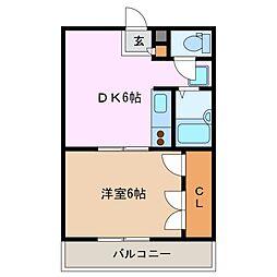ネスト[2階]の間取り