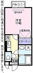 エスト・カーサ[2階]の間取り