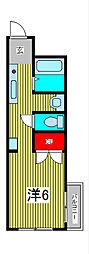 グレートラビ[3階]の間取り