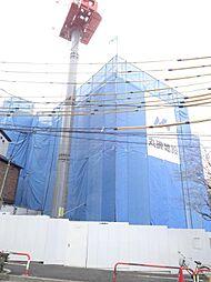 東京都北区赤羽台3の賃貸マンションの外観