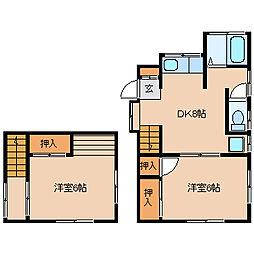 [一戸建] 神奈川県鎌倉市雪ノ下4丁目 の賃貸【/】の間取り