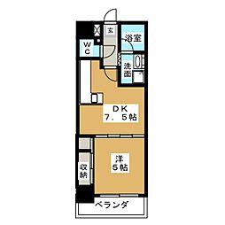 DOMUS21[7階]の間取り