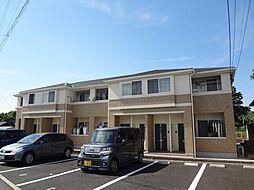三重県四日市市朝明町の賃貸アパートの外観