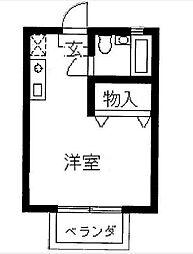 フィールド中田[2階]の間取り