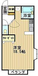 おしゃれハウス3[A201号室]の間取り