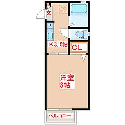 KENハウス[1階]の間取り