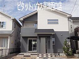 [一戸建] 滋賀県栗東市小平井3丁目 の賃貸【/】の外観