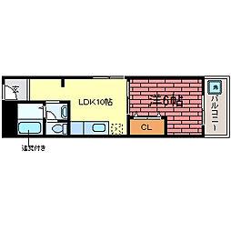 市川マンション[2階]の間取り