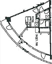 ハーベストヒルズ溝の口II[5階]の間取り