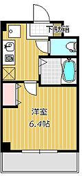 ミリアビタNo.5[5階]の間取り