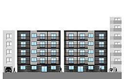 仮)北14東1マンション[4階]の外観