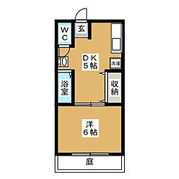 新興荘[1階]の間取り