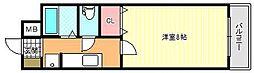 パークアヴェニュー[3階]の間取り