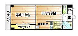 木下鉱産ビルV[3階]の間取り