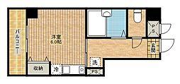 アイルイン武蔵新城[402号室]の間取り