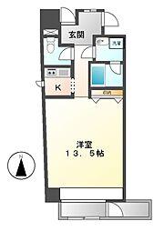 エスフォート(S−FOR)葵一丁目[3階]の間取り