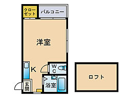 ドリームマーサー[1階]の間取り