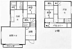 [一戸建] 北海道札幌市豊平区西岡三条11丁目 の賃貸【/】の間取り