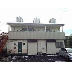 栃木県宇都宮市野沢町の賃貸アパートの外観