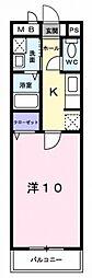 ローズガーデン鶴見[2階]の間取り