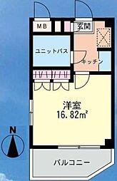 コスタニアマンション[3階]の間取り