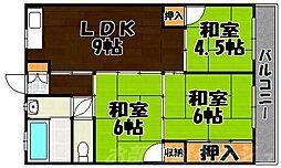 小堺ビル[5階]の間取り