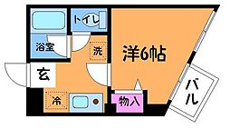 F・Yハイア[2階]の間取り