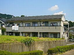 愛知県豊川市御油町西沢の賃貸アパートの外観