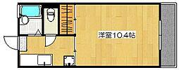 MIIスターマンション[109号室]の間取り