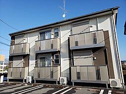 JR常磐線 荒川沖駅 バス15分 西郷下車 徒歩4分の賃貸アパート