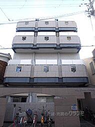 シティパレス北田辺[2階]の外観