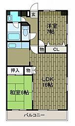 第5SKビル[10階]の間取り