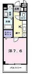 香川県高松市仏生山町甲の賃貸マンションの間取り