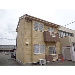 静岡県浜松市中区上島4丁目の賃貸アパートの外観