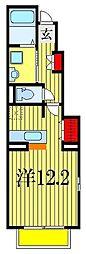 グラースメゾン[1階]の間取り