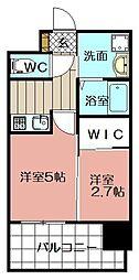 エンクレスト博多駅前ART(904)[904号室]の間取り