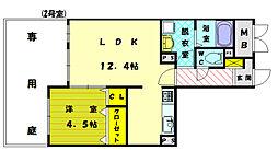 ネオソーラーSUN番館[3階]の間取り