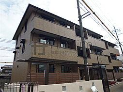 京都府京都市山科区大塚森町の賃貸アパートの外観
