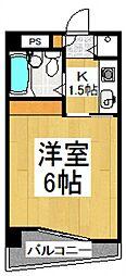 リエス清瀬[2階]の間取り