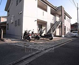 京都府京都市伏見区深草極楽寺町の賃貸アパートの外観