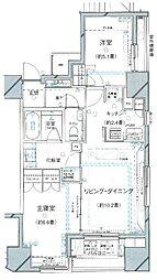 ピアース乃木坂[12階]の間取り