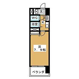 S‐FORT山王[9階]の間取り
