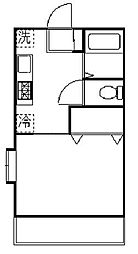 レフォール宿河原[1階]の間取り