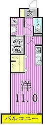 サン フォレスト21[3階]の間取り