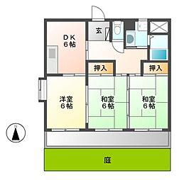 マイハウス1[1階]の間取り